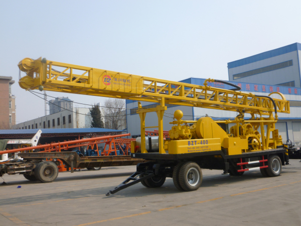BZT400 tralier mounted drilling rig