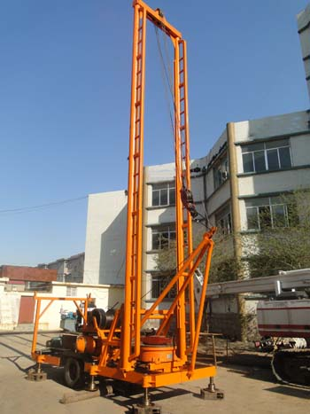 CYT-400 engineering and water-well drilling rig