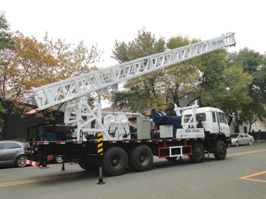 BZC600CLCA Truck mounted drilling rig