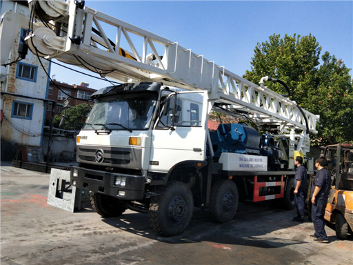 Delivery BZC600CA truck mounted drilling rig to Algeria.