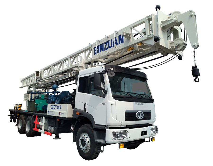BZCY400ZY truck mounted drilling rig