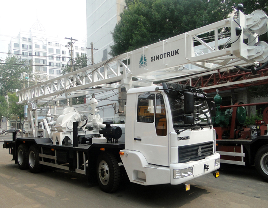 BZC350ZY truck mounted drilling rig