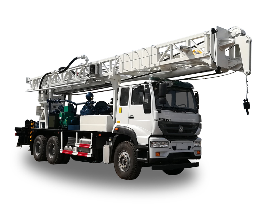 BZCY600CWY Truck-mounted  drilling rig| water drilling machine