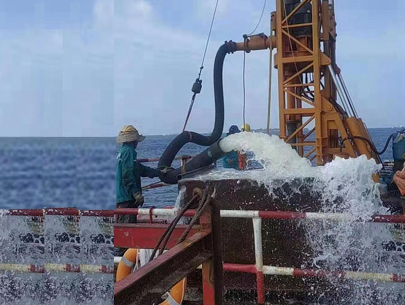 BZDYF150drilling rig successfully tested in Maldives