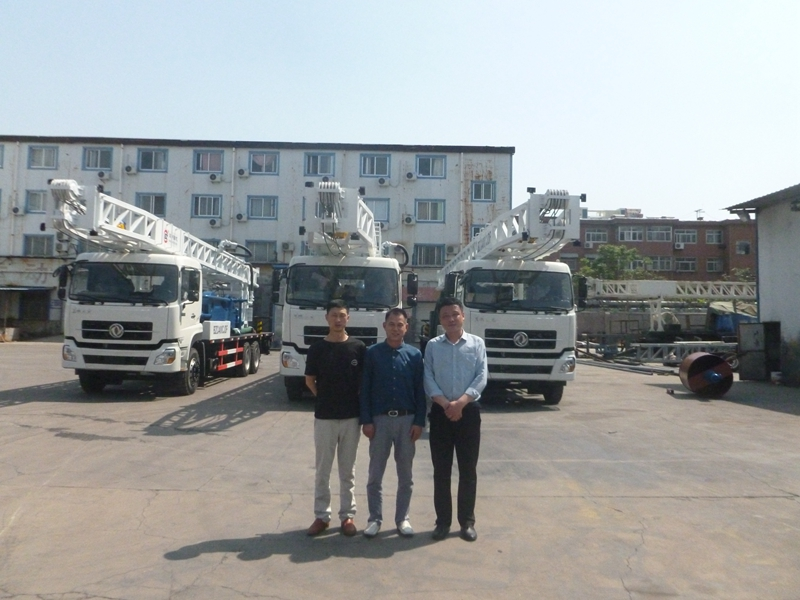 Beijing merchants to visit our factory drill