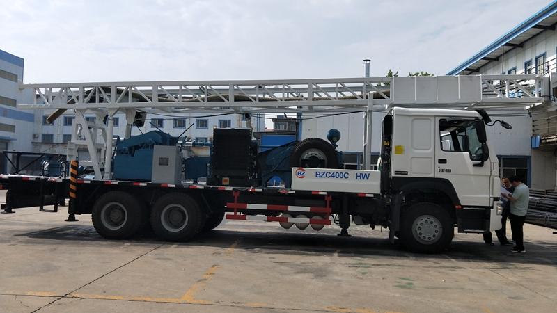 BZC400CJHW Truck mounted drilling rig
